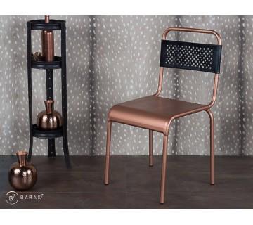 Chaise bistro cuivre