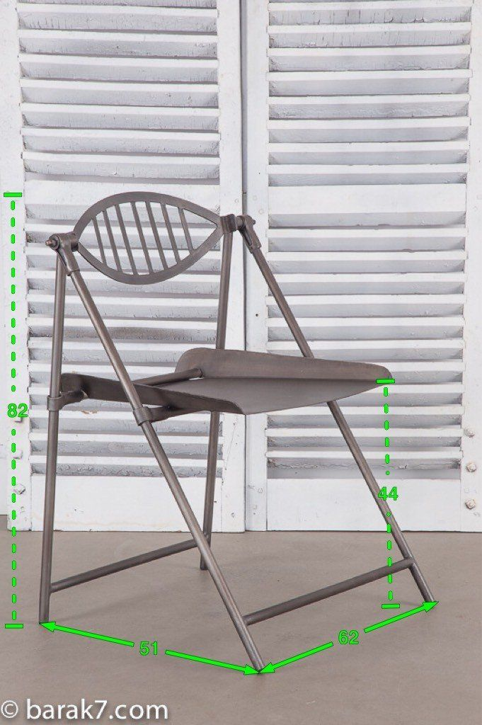 """Chaise industrielle """"Arty"""""""