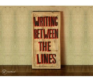 Tableau Writing between the lines