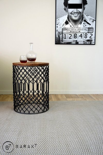 """Table d'appoint vintage """"arty"""""""