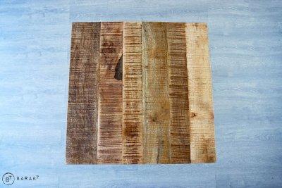 Table basse bistrot carrée