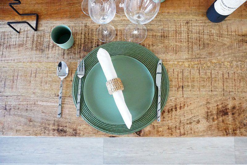 Table bois et métal vintage RETRO ARCHI