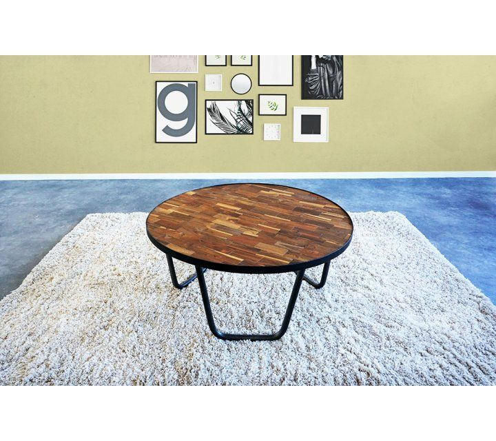 Table basse bois et métal Element