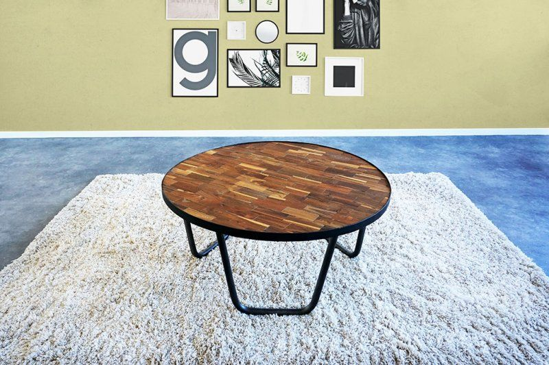 Table basse en teck Element