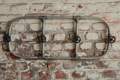 Porte serviettes industriel robinets