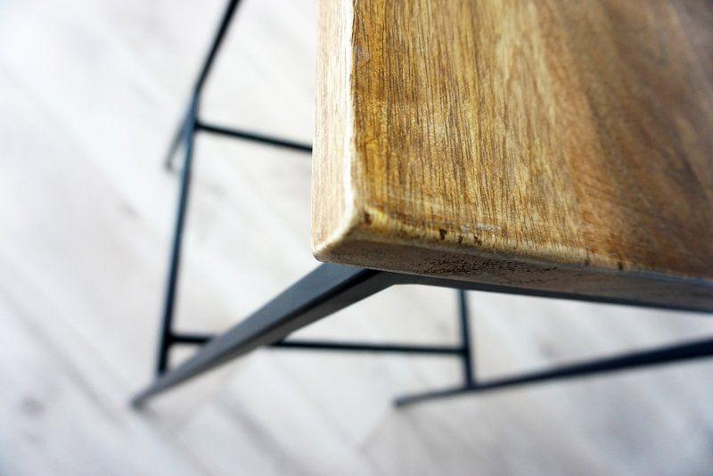 Chaise de bar bois et métal Robin