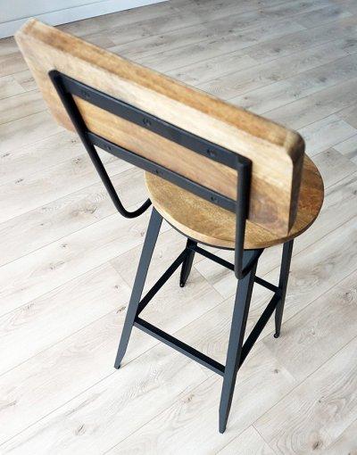 Chaise de bar Jacko