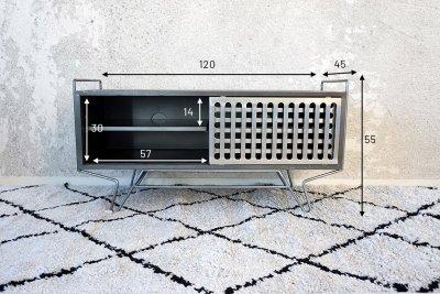 Petit meuble TV Sixties