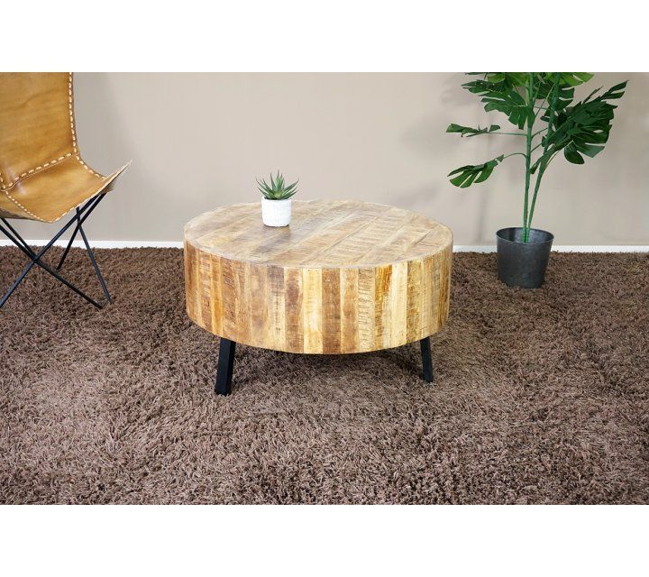 Table basse bois et métal - All around