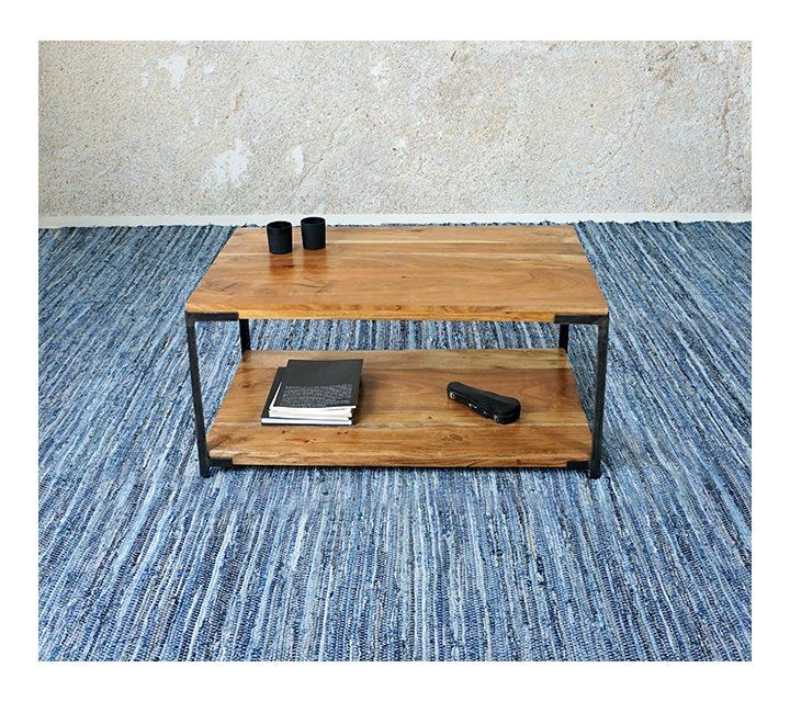 Table basse industrielle - Pure
