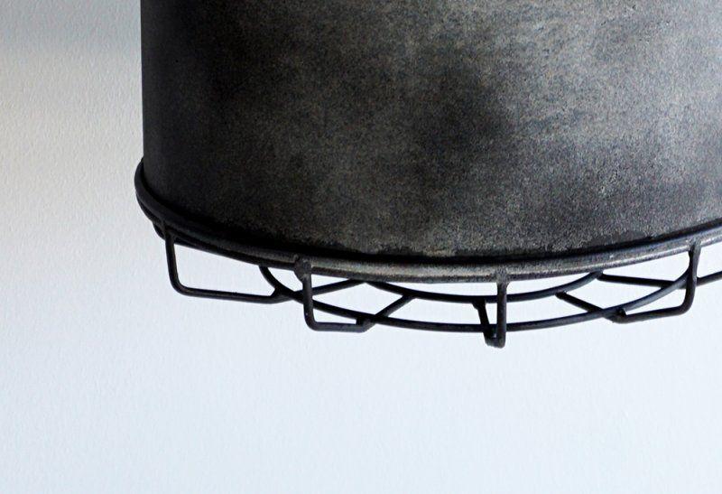 Suspension industrielle en métal 28 cm - Berlin