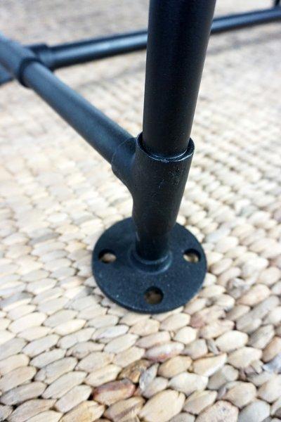 Table basse industrielle en tuyau de plomberie - Tube