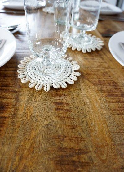 Table à manger bois massif avec pieds métal