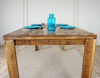 Table salle à manger en manguier massif Pure