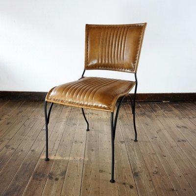 Chaise en cuir COSY