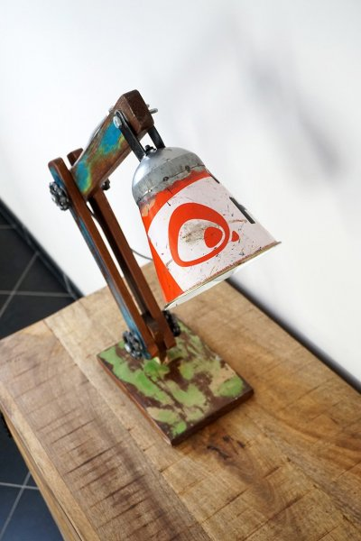 Lampe à poser industrielle recycled