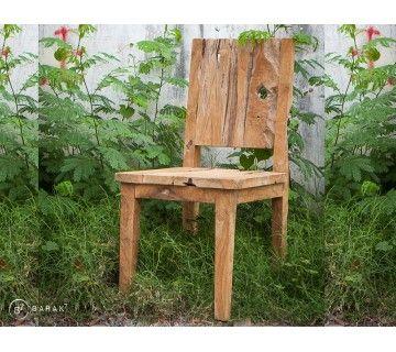 Chaise «Jane» Urban jungle en teck