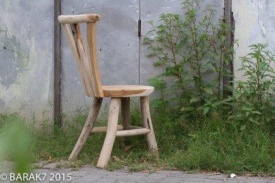 Chaise «Flore» Urban Jungle en teck