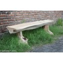 Banc Tribu Urban Jungle en teck