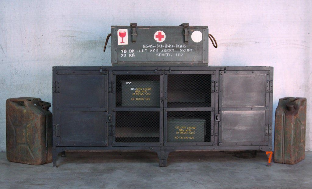 industrial furniture industrial metal sideboard barak 39 7
