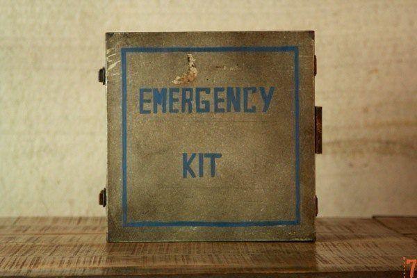 Industrial style emergency kit