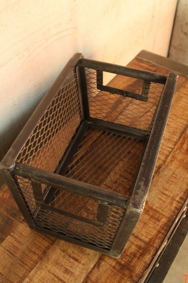 Industrial rack with handle