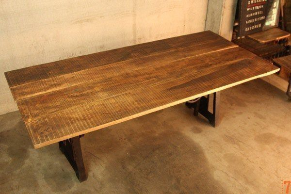 Table industrielle de salle manger r haussable - Table rehaussable but ...