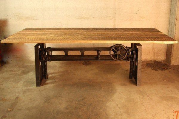 Adjustable industrial table