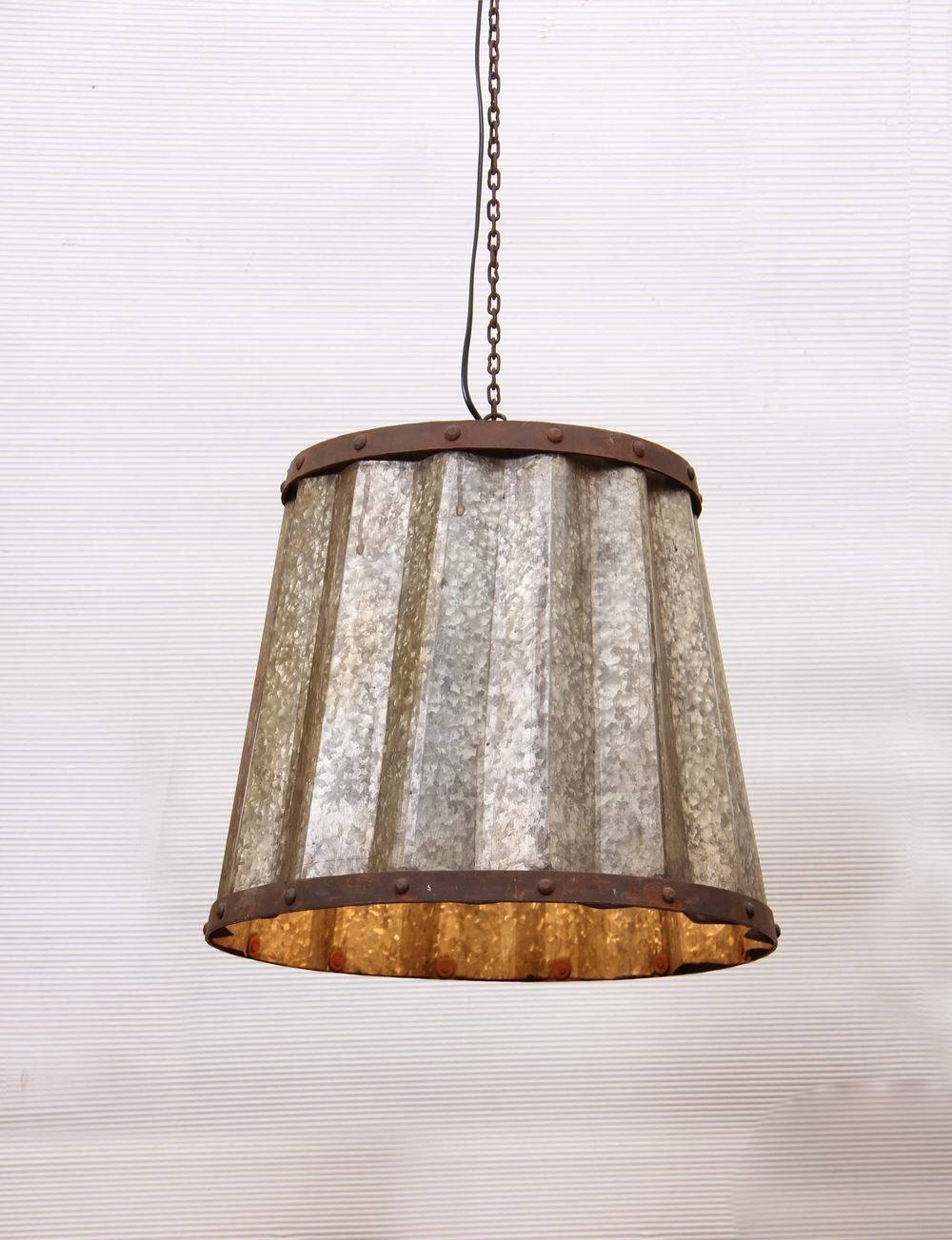 Clink industrial suspension lamp