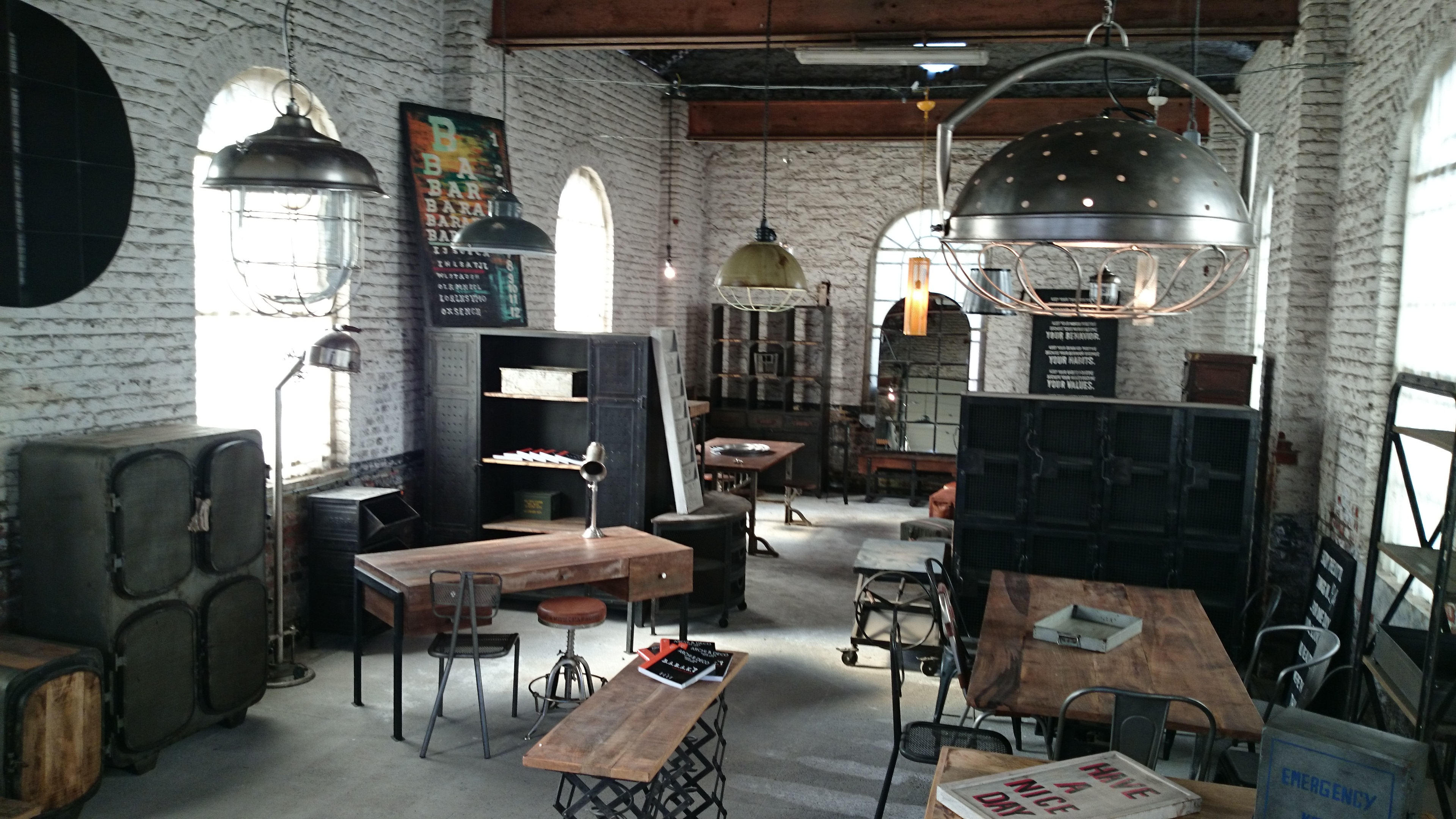 Showroom meubles industriels BARAK'7