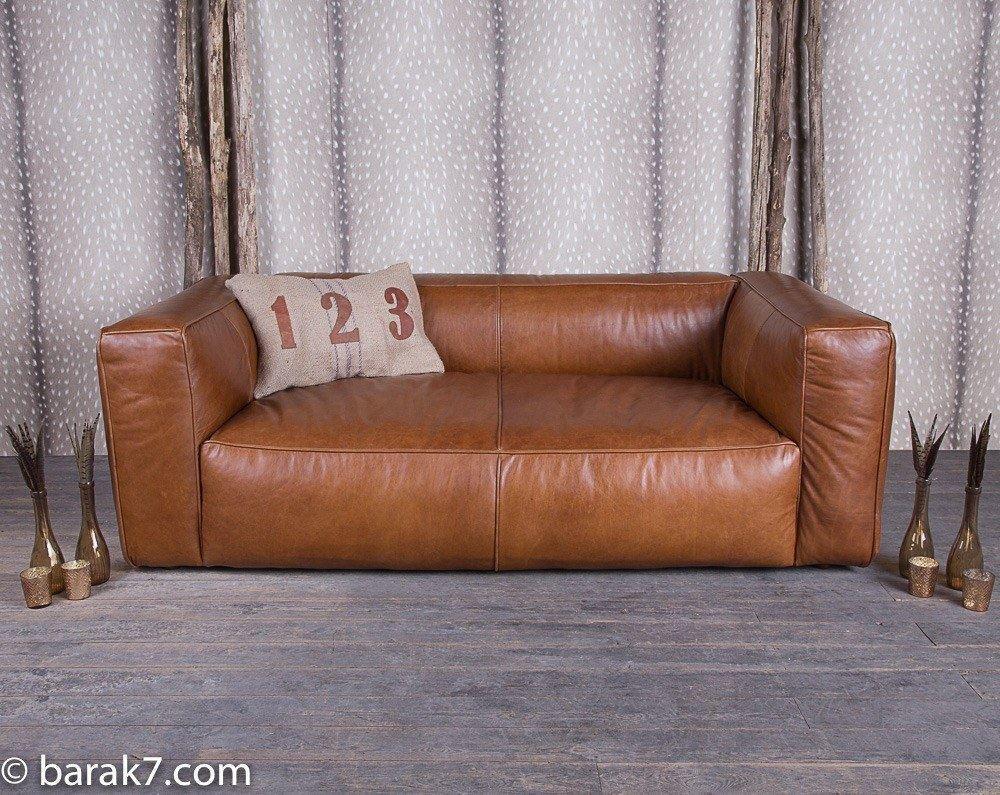 Canapé lounge en cuir de première qualité