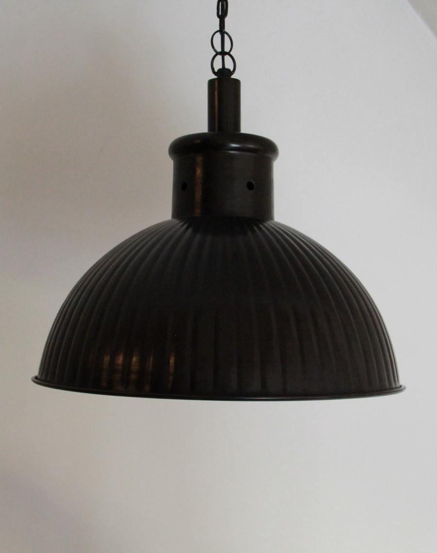 suspension industrielle en m tal cuivre barak7. Black Bedroom Furniture Sets. Home Design Ideas
