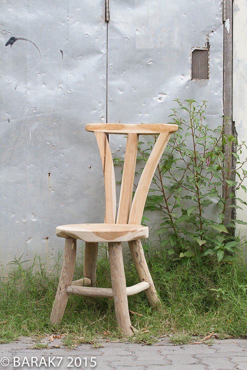 Urban Jungle FLORE chair in teak wood - 1