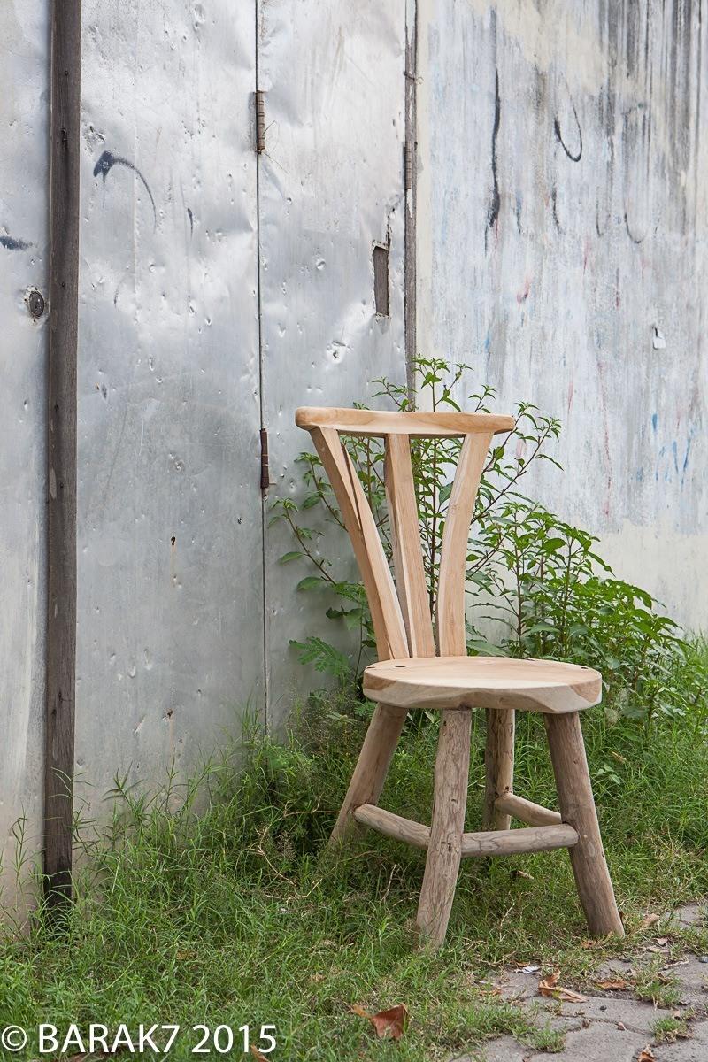 Chaise flore urban junge en teck - 3