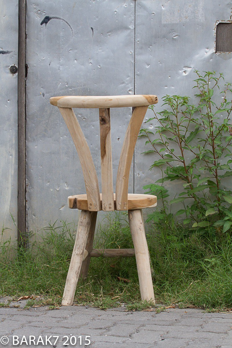 Urban Jungle FLORE chair in teak wood - 5