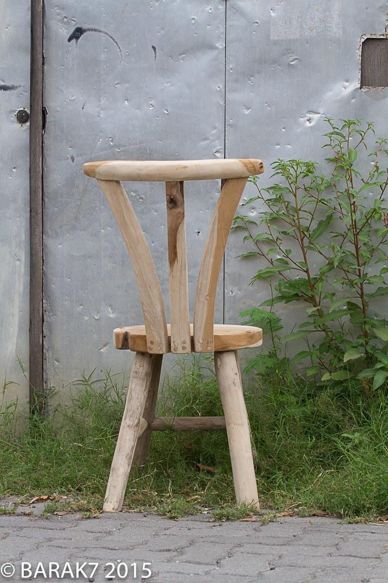 Chaise flore urban junge en teck - 5