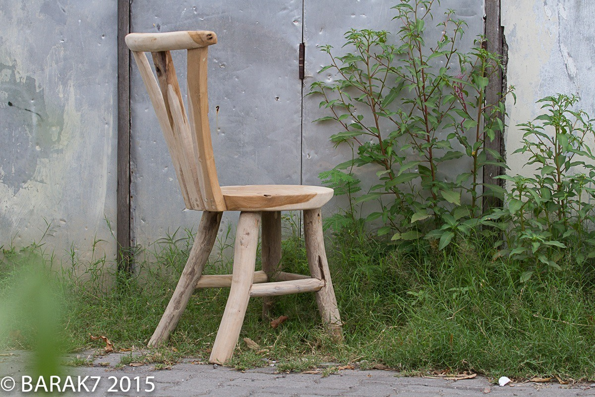 Urban Jungle FLORE chair in teak wood - 6