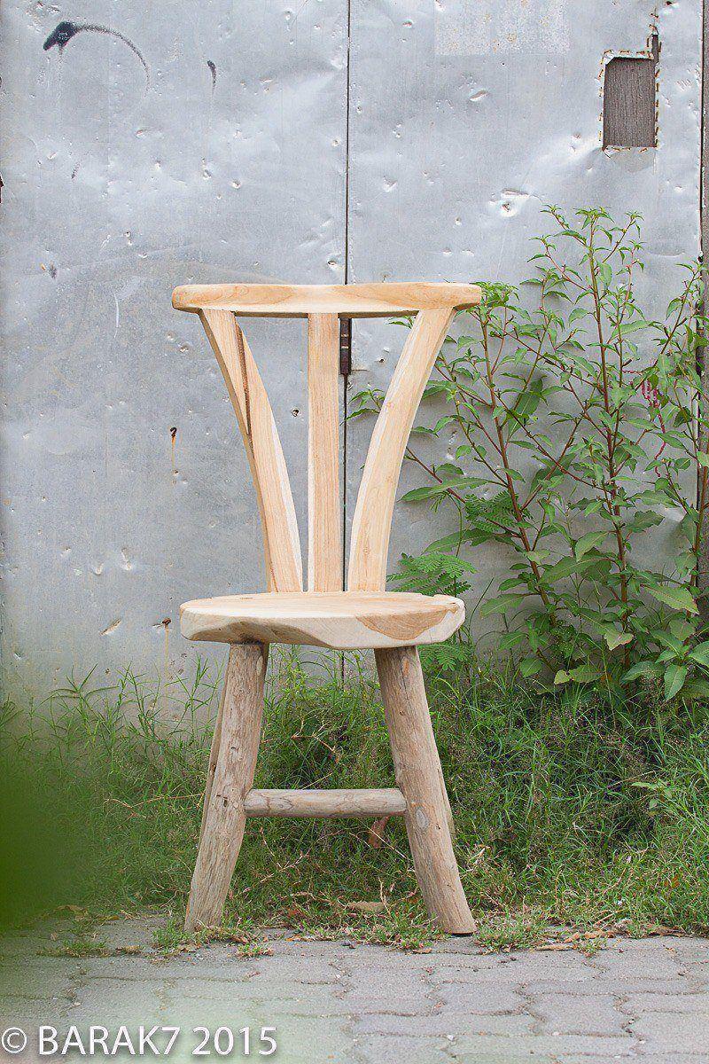 Chaise flore urban junge en teck - 8