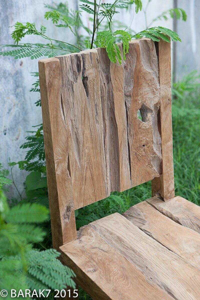 Urban jungle chair JANE in teak wood - 3