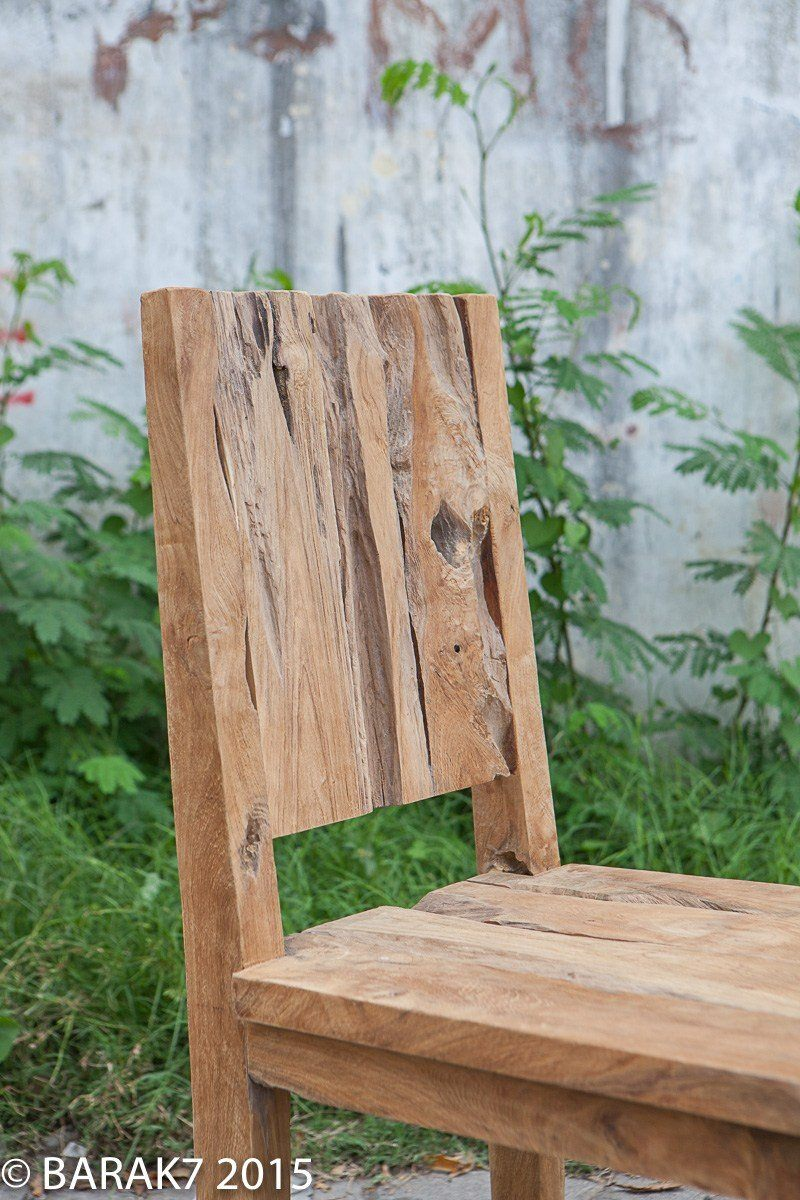 Urban jungle chair JANE in teak wood - 4