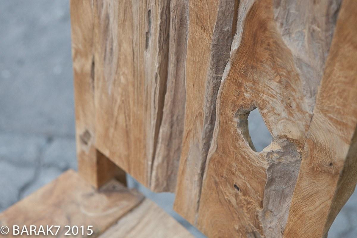 Urban jungle chair JANE in teak wood - 5