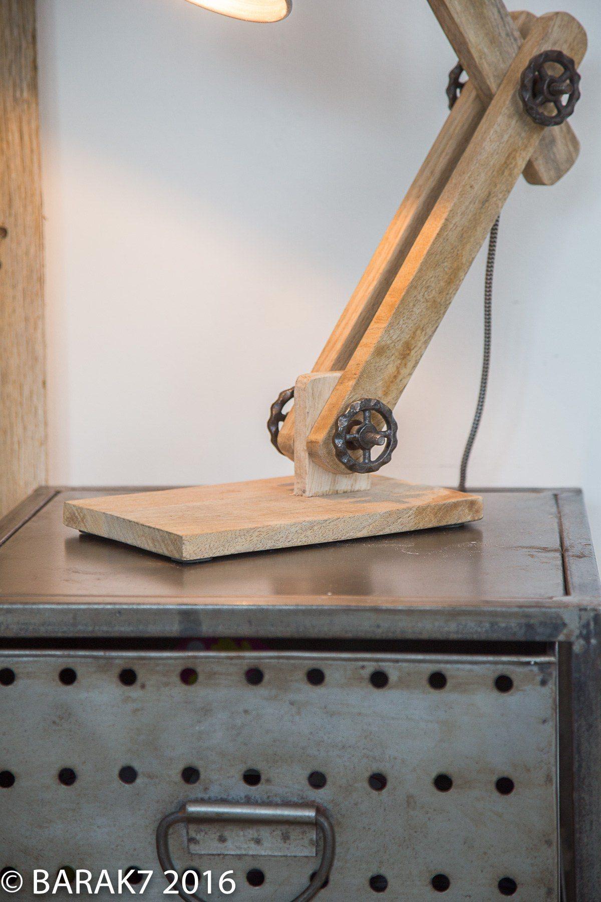 lampe de chevet industrielle scandinave à poser