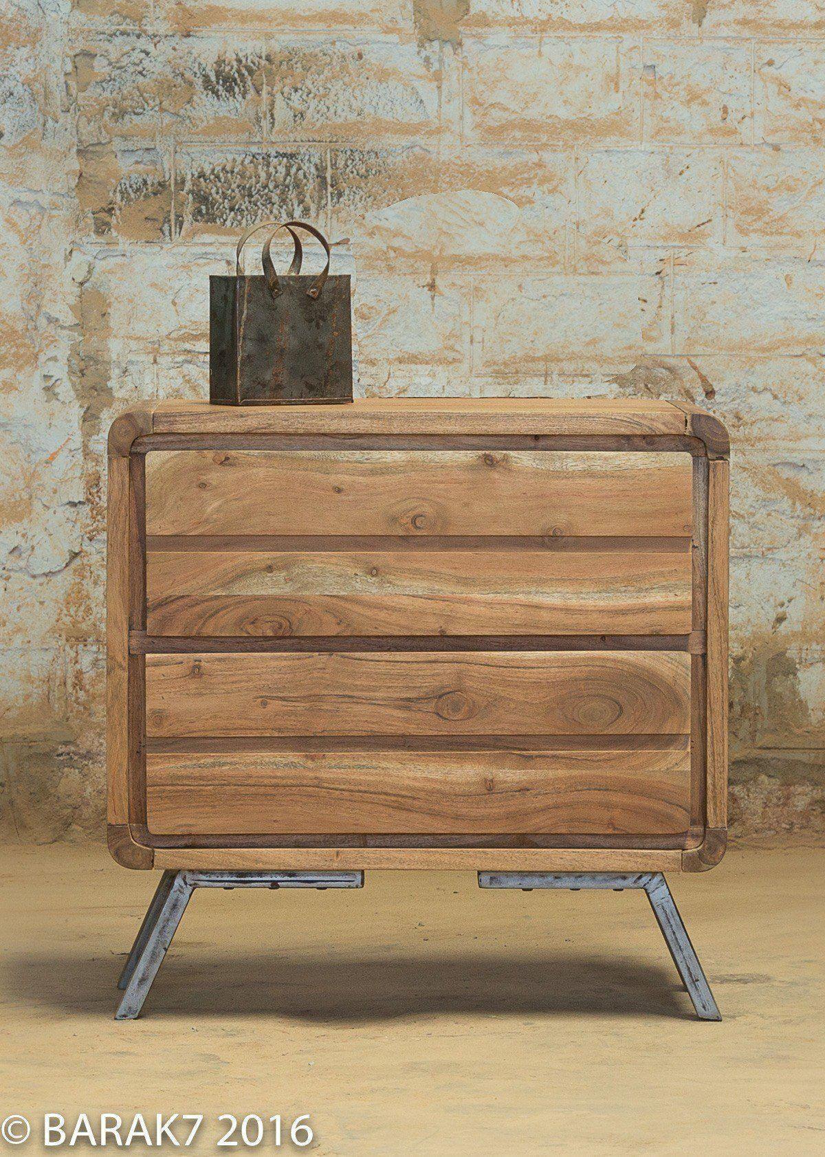 Industrial Furniture Wooden Scandinavian Dresser With