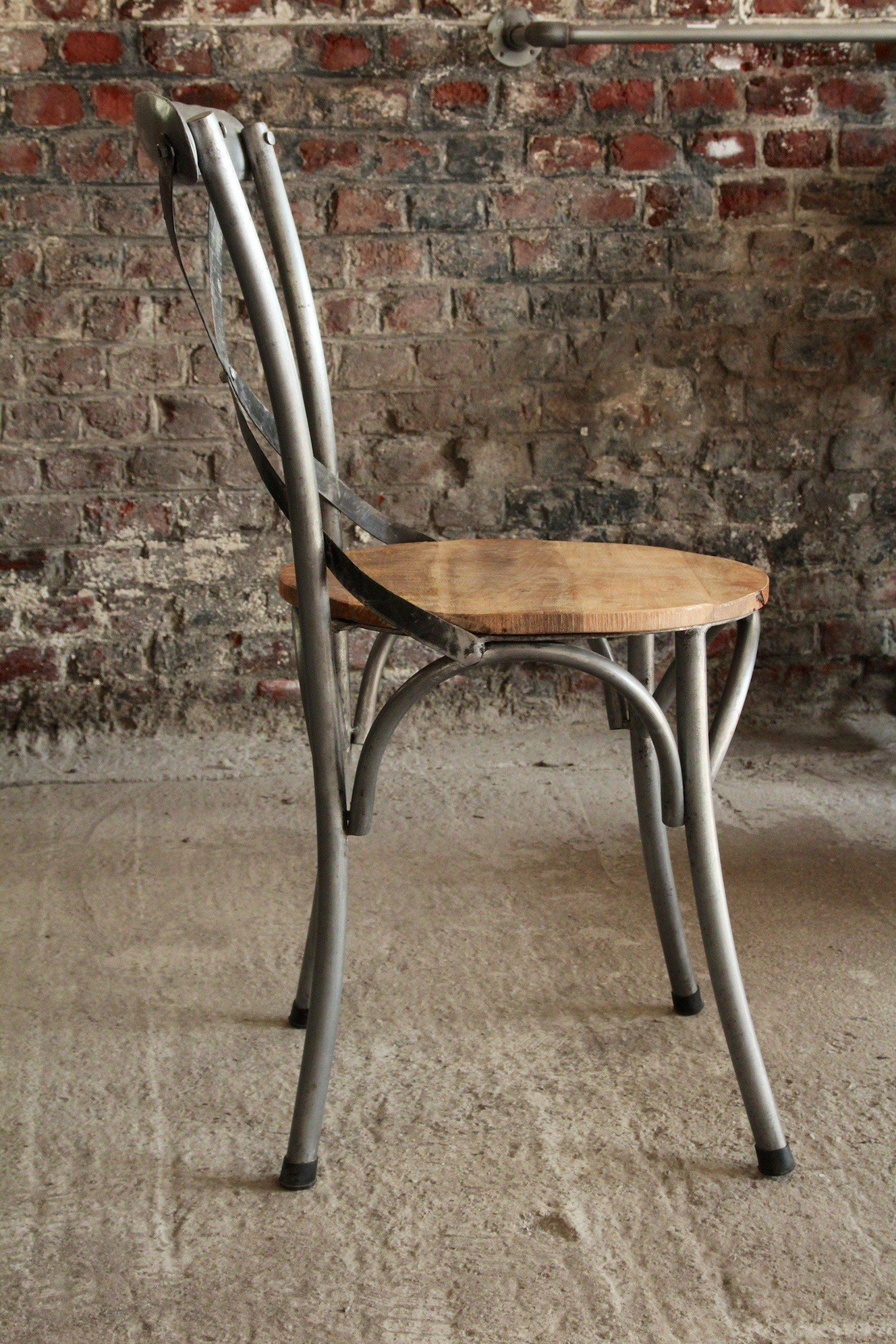 Industrial Furniture Bistro chair in wood and metal