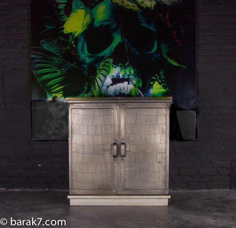 "Industrial bar cabinet ""Apero"""
