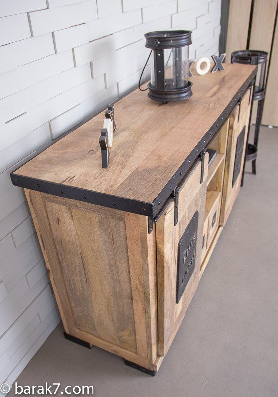 "Industrial sideboard ""Live with character"""