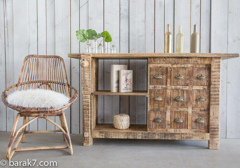 "Industrial sideboard ""carpenter's bench"""