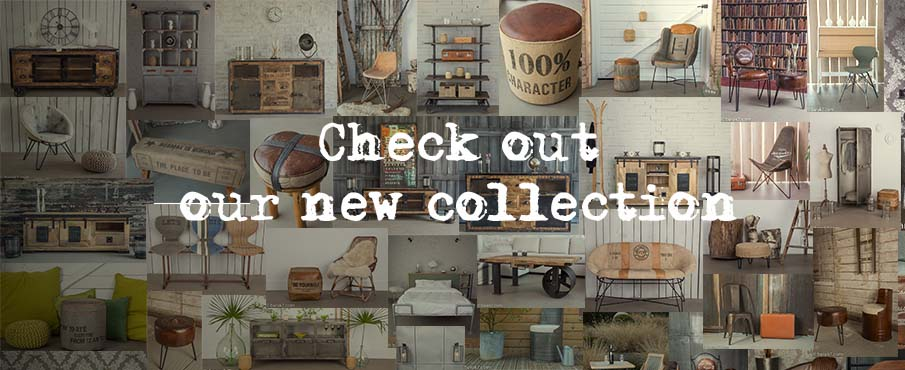 Industrial Furniture UK - Vintage  Industrial  BARAK
