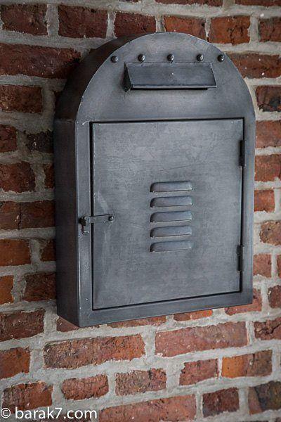 Boite lettres industrielle - Lettre industrielle deco ...