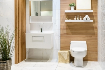 8 teintes modernes pour vos toilettes